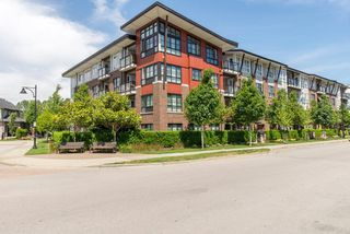 "Main Photo: 408 23215 BILLY BROWN Road in Langley: Fort Langley Condo for sale in ""WATERFRONT AT BEDFORD LANDING"" : MLS®# R2390619"