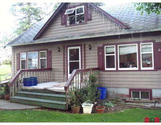 Main Photo: 33711 FARMER Road in Abbotsford: Poplar House for sale : MLS®# F2728153