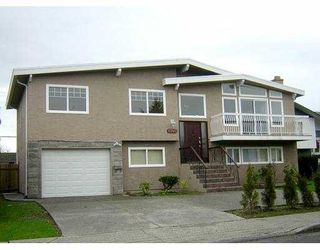 Photo 1: 6240 CONSTABLE Drive in Richmond: Woodwards House for sale : MLS®# V625252