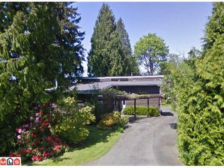 Photo 1: 12625 26A AV in Surrey: Crescent Bch Ocean Pk. House for sale (South Surrey White Rock)  : MLS®# F1114791