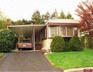 """Photo 1: 56 7790 KING GEORGE Highway in Surrey: East Newton Manufactured Home for sale in """"Crispen Bays"""" : MLS®# F2730084"""