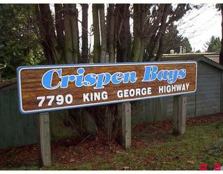 """Photo 3: 56 7790 KING GEORGE Highway in Surrey: East Newton Manufactured Home for sale in """"Crispen Bays"""" : MLS®# F2730084"""
