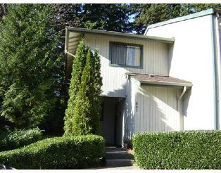 Photo 1: 831 ALEXANDER Bay in Port_Moody: North Shore Pt Moody Townhouse for sale (Port Moody)  : MLS®# V679420