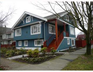 Photo 1: 3088 W 11TH Avenue in Vancouver: Kitsilano House for sale (Vancouver West)  : MLS®# V686190