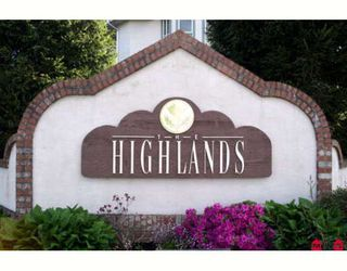 """Photo 1: 316 7151 121ST Street in Surrey: West Newton Condo for sale in """"HIGHLANDS"""" : MLS®# F2815731"""