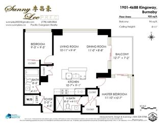 """Photo 38: 1901 4688 KINGSWAY in Burnaby: Metrotown Condo for sale in """"STATION SQUARE"""" (Burnaby South)  : MLS®# R2485015"""