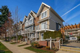 "Photo 1: 506 1661 FRASER Avenue in Port Coquitlam: Glenwood PQ Townhouse for sale in ""Brimley Mews"" : MLS®# R2446911"