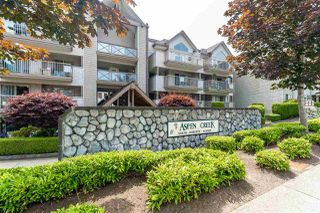 "Main Photo: 105 33478 ROBERTS Avenue in Abbotsford: Central Abbotsford Condo for sale in ""Aspen Creek"" : MLS®# R2471057"