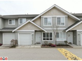 Photo 1: 25 12128 68 Avenue in Surrey: West Newton Townhouse for sale : MLS®# F1106935