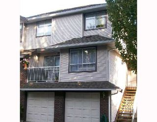 Photo 1: 19 2450 LOBB Avenue in Port_Coquitlam: Mary Hill Townhouse for sale (Port Coquitlam)  : MLS®# V674521
