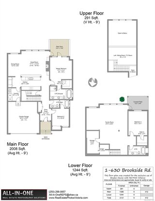 Photo 46: 1 630 Brookside Rd in : Co Latoria Row/Townhouse for sale (Colwood)  : MLS®# 857326
