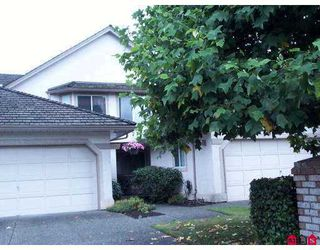 "Photo 1: 134 15988 83RD Avenue in Surrey: Fleetwood Tynehead Townhouse for sale in ""Glenridge Estates"" : MLS®# F2719346"