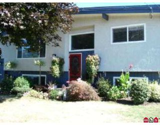 "Photo 1: 10102 DUBLIN Drive in Chilliwack: Fairfield Island House for sale in ""FAIRFIELD"" : MLS®# H2704100"