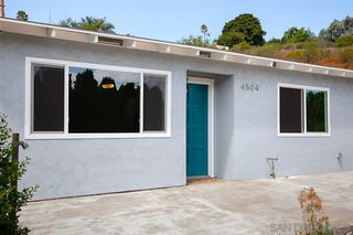 Main Photo: CITY HEIGHTS House for sale : 3 bedrooms : 4504 Home Ave in San Diego