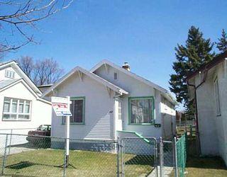 Main Photo: 467 MCKENZIE Street in Winnipeg: North End Single Family Detached for sale (North West Winnipeg)  : MLS®# 2504801