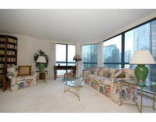 """Photo 3: 1004 1415 W GEORGIA Street in Vancouver: Coal Harbour Condo for sale in """"PALAIS GEORGIA"""" (Vancouver West)  : MLS®# V663547"""