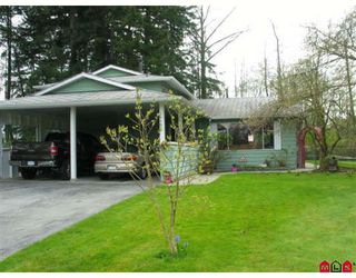 Photo 1: 15530 MADRONA Drive in Surrey: King George Corridor House for sale (South Surrey White Rock)  : MLS®# F2810790