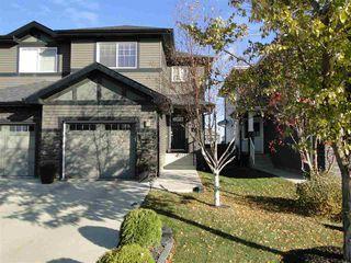 Main Photo: 17724 10 Avenue in Edmonton: Zone 56 House Half Duplex for sale : MLS®# E4176980