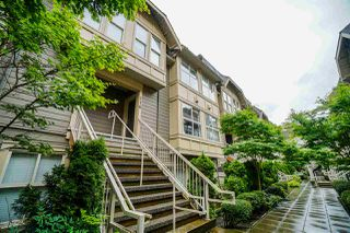 """Photo 1: 216 2110 ROWLAND Street in Port Coquitlam: Central Pt Coquitlam Townhouse for sale in """"Aviva On The Park"""" : MLS®# R2466337"""