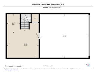 Photo 50: 178 5604 199 Street in Edmonton: Zone 58 Townhouse for sale : MLS®# E4213676