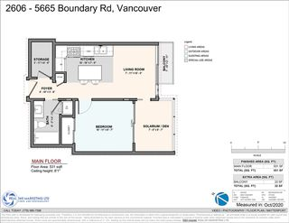 """Photo 23: 2606 5665 BOUNDARY Road in Vancouver: Collingwood VE Condo for sale in """"WALL CENTRE CENTRAL PARK TOWER II"""" (Vancouver East)  : MLS®# R2508842"""