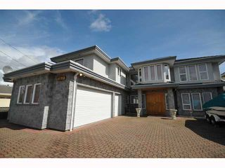 """Main Photo: 8180 MINLER RD in Richmond: Woodwards House for sale in """"WOODWARDS"""" : MLS®# V833660"""