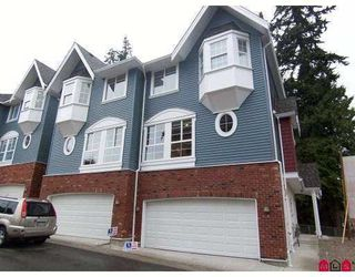 "Photo 1: 31 5889 152 Street in Surrey: Sullivan Station Townhouse for sale in ""Sullivan Gardens"" : MLS®# F2809307"