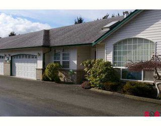 "Photo 1: 45160 SOUTH SUMAS Road in Sardis: Sardis West Vedder Rd Townhouse for sale in ""COTTAGE LANE"" : MLS®# H2700769"
