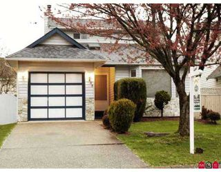 "Photo 1: 15405 90TH Avenue in Surrey: Fleetwood Tynehead House for sale in ""BERKSHIRE PARK"" : MLS®# F2708524"