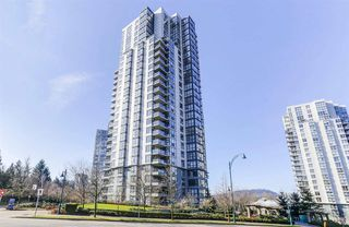"Photo 1: 105 288 UNGLESS Way in Port Moody: North Shore Pt Moody Condo for sale in ""CRESCENDO"" : MLS®# R2437892"
