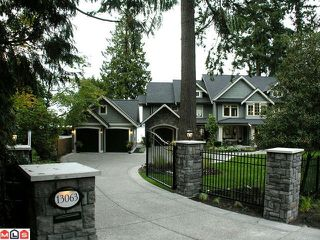 Photo 1: 13063 CRESCENT RD: House for sale : MLS®# F1006289