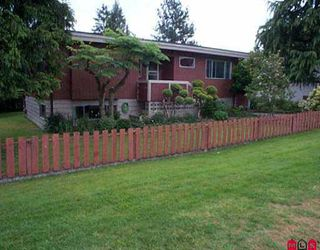 """Photo 1: 10874 ORIOLE DR in Surrey: Bolivar Heights House for sale in """"Birdland"""" (North Surrey)  : MLS®# F2509987"""