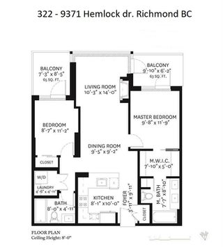 Photo 11: 322 9371 HEMLOCK Drive in Richmond: McLennan North Condo for sale : MLS®# R2422661