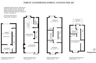 "Photo 20: 2488 ST. CATHERINES Street in Vancouver: Mount Pleasant VE Townhouse for sale in ""Bravo"" (Vancouver East)  : MLS®# R2443783"