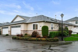 """Photo 1: 101 8485 YOUNG Road in Chilliwack: Chilliwack W Young-Well 1/2 Duplex for sale in """"HAZELWOOD GROVE"""" : MLS®# R2523942"""