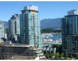 "Photo 2: 515 1333 W GEORGIA Street in Vancouver: Coal Harbour Condo for sale in ""QUBE"" (Vancouver West)  : MLS®# V658640"