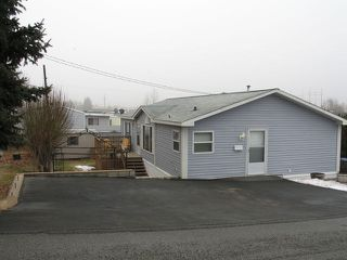 Photo 1: #37-1655 Ord Rd in Kamloops: Manufactured Home for sale : MLS®# 107393