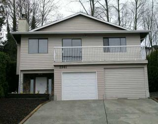 Main Photo: 2341 CAPE HORN Ave in Coquitlam: Cape Horn House for sale : MLS®# V633865