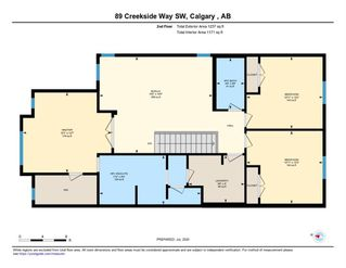 Photo 43: 89 Creekside Way SW in Calgary: C-168 Detached for sale : MLS®# A1013282