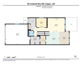 Photo 42: 89 Creekside Way SW in Calgary: C-168 Detached for sale : MLS®# A1013282