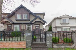 Main Photo: 693 W 71ST Avenue in Vancouver: Marpole 1/2 Duplex for sale (Vancouver West)  : MLS®# R2527939