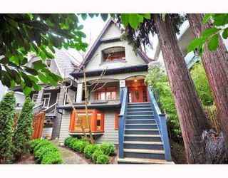 Photo 1: 2168 YORK AV in Vancouver: House for sale : MLS®# V799343