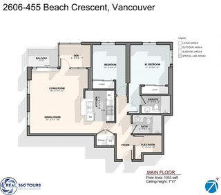 "Photo 2: 2606 455 BEACH Crescent in Vancouver: Yaletown Condo for sale in ""PARK WEST 1"" (Vancouver West)  : MLS®# R2430725"