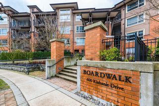 "Main Photo: 106 600 KLAHANIE Drive in Port Moody: Port Moody Centre Condo for sale in ""KLAHANIE"" : MLS®# R2439228"