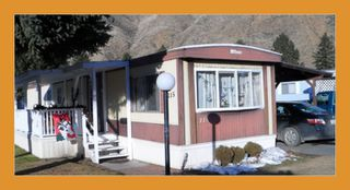 Photo 1: 115-2401 Ord Rd in Kamloops: Manufactured Home for sale : MLS®# 107356