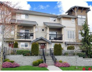 "Photo 1: 2 5839 PANORAMA Drive in Surrey: Sullivan Station Townhouse for sale in ""FOREST GATE"" : MLS®# F2809903"