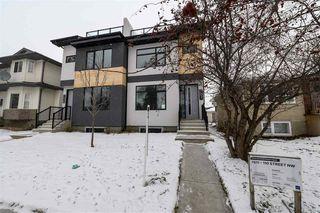 Photo 1: 7611 110 Street in Edmonton: Zone 15 House Half Duplex for sale : MLS®# E4182905