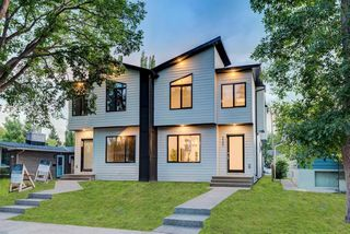 Main Photo: 2207 7 Street NE in Calgary: Winston Heights/Mountview Semi Detached for sale : MLS®# A1016103