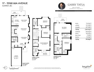 Photo 39: 17 15168 66A Avenue in Surrey: East Newton Townhouse for sale : MLS®# R2504827