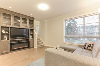 """Photo 2: 11 16127 87 Avenue in Surrey: Fleetwood Tynehead Townhouse for sale in """"ACADEMY"""" : MLS®# R2425699"""